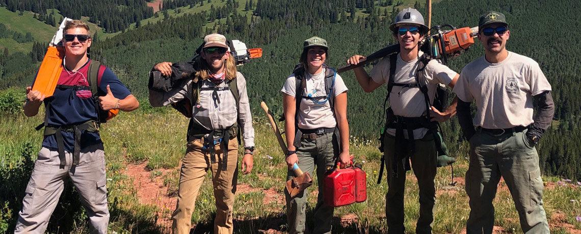 Job Posting – 2021 Seasonal Trail Crew Members Wanted!