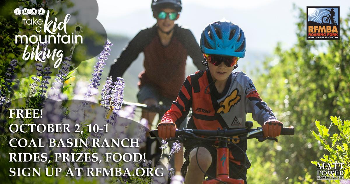 Take a Kid Mountain Biking Day 2021